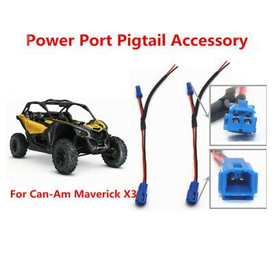 Ebay Advertisement Connector Port Pigtail 320mm Wiring Replacement Parts Portable Durable Can Am 4x4 4x4 Accessories