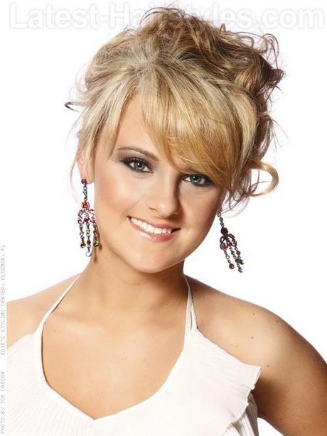 Prom Hairstyles With Fringe Fringe Hairstyles Prom Fringe Hairstyles Boho Full Fringe Hairstyles Updos For Medium Length Hair Front Hair Styles Hair Lengths