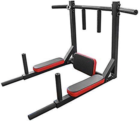 Bar2fit Barre De Traction Murale Avec Barres A Dips Amazon Fr Sports Et Loisirs Barre De Traction Salle De Sport Maison Machine Musculation