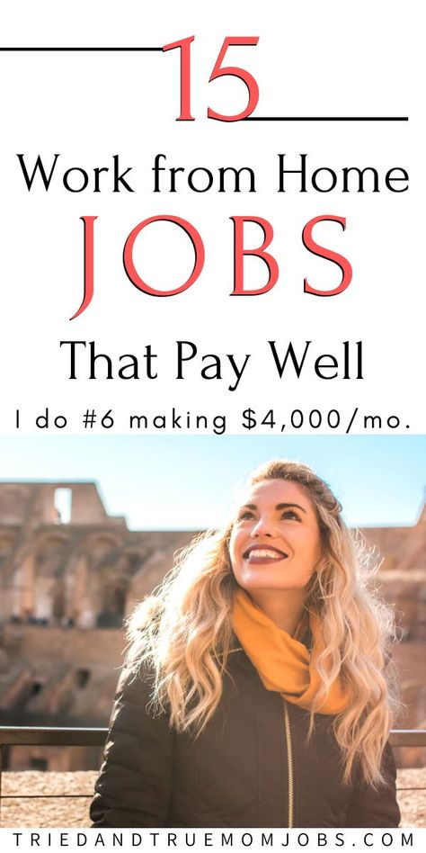 15 Real Work from Home Jobs in 2020 that Pay Well! - All Tried & Tested