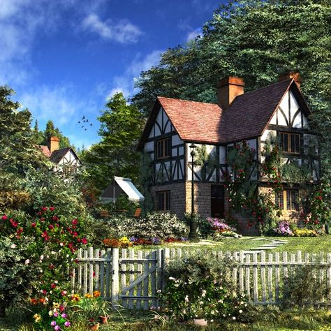 English Tudor cottage in the country side.....Lovely !!