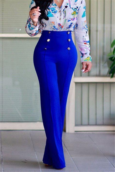 Ropa elegante para mujer con pantalón