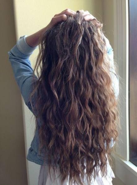 46 Trendy Ideas Hair Long Brown Wavy Curls Long Hair Styles Natural Wavy Hair Brunette Hair Color