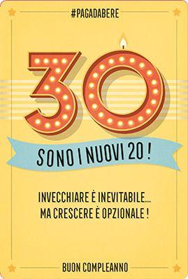 Risultati Immagini Per Auguri Per 30 Anni Compleanno Buon
