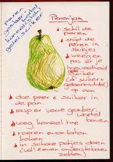 Pear & ginger jam
