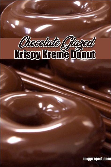 Chocolate Donut Frosting, Chocolate Glazed Donuts Recipe, Chocolate Icing Recipes, Donut Icing, Doughnut Cake, Krispy Cream Donuts Recipe, Icing For Donuts Recipe, Cream Donut Recipe, Krispy Kreme Icing Recipe