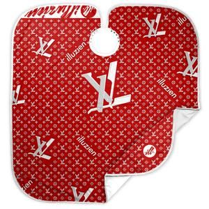 RED LV Hair Cutting Cape