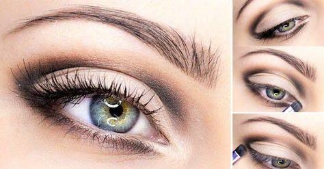 4b7012c77 Rafinované líčenie pre modré oči.