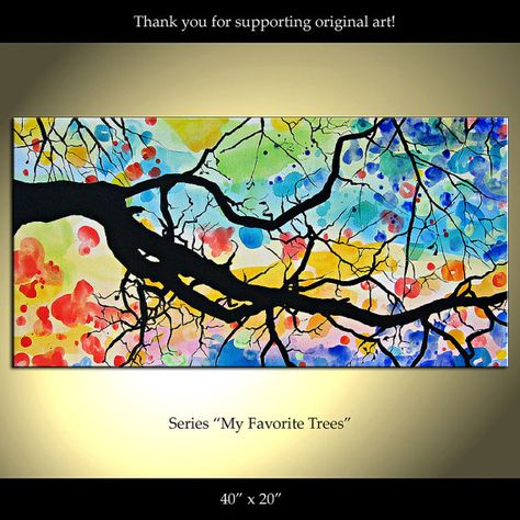 Colorina Art- try with watercolor background and blown ink