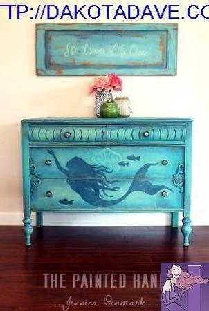 Knobs for Dressers Mermaid Drawer Knobs Mermaid Decor Mermaid Nursery Decor Blue Mermaid Dresser Knobs Dresser Knobs for Kids Room
