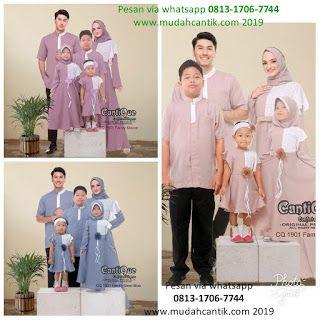 Baju Lebaran 2019 Model Baju Gamis Terbaru Lebaran 2019 Gamis Couple Suami Istri Plus Anak 2019 Savero Fashion By Rika Wh Model Pakaian Baju Muslim Suami