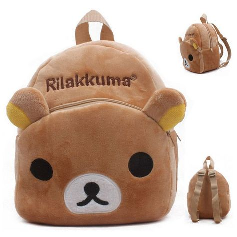 c9a8f8315bef New cute cartoon kids plush backpack toys mini schoolbag Children s gifts  kindergarten boy girl baby student bags lovely Mochila