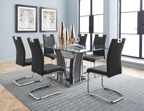 Glass Dining Table Set Canada
