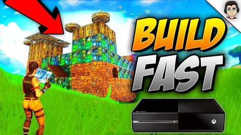 HOW TO BUILD *FASTER* ON CONSOLE FORTNITE BATTLE ROYALE (GUIDE TO MASTER BUILDING) #building #BattleRoyale