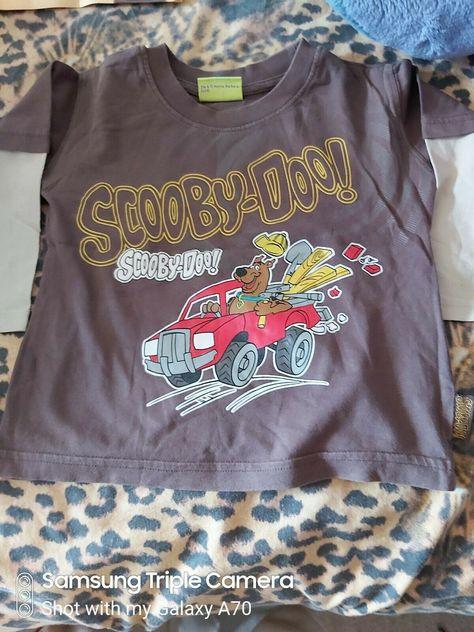 Boys Long Sleeved Top Scooby Doo