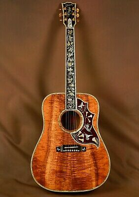 Gibson Koa J 200 Custom Acoustic Guitar For Sale Online Ebay Custom Acoustic Guitars Acoustic Guitar Acoustic Guitar For Sale