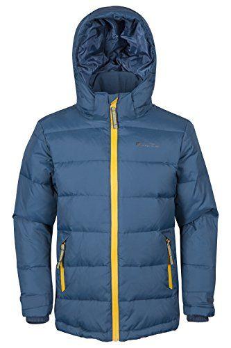 Mountain Warehouse Frost Kids Down Padded Winter Jacket Warm