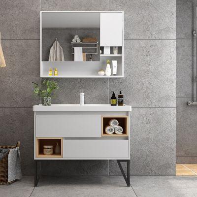 2019 New Design Bathroom Vanity With Ceramic Basin And Black Metal Leg Modern Bathroom Cabinets Washbasin Design Tv Room Design
