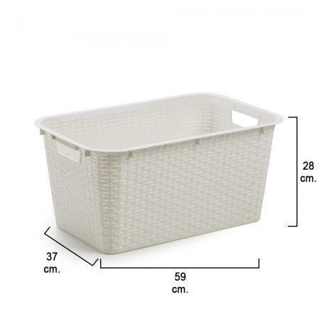 Curver Caja De Almacenaje Con Tapa Style 3 Uds L Blanco 240656 Blanco Cestas De Almacenamiento Cestas Cajas De Almacenamiento