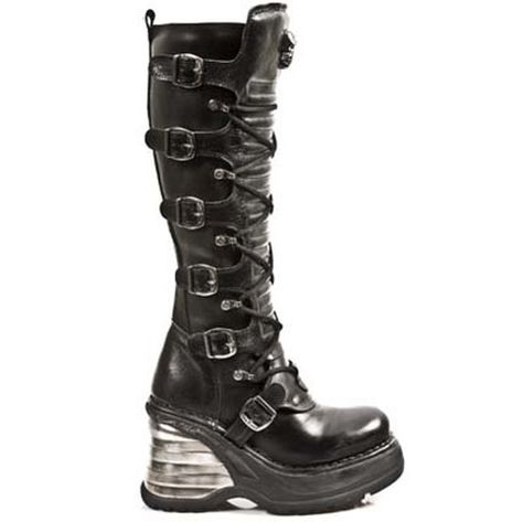 02e2bbe0 New Rock 8272 S1 Cuna Knee High Boots | shoes | Boots, Shoe boots ...