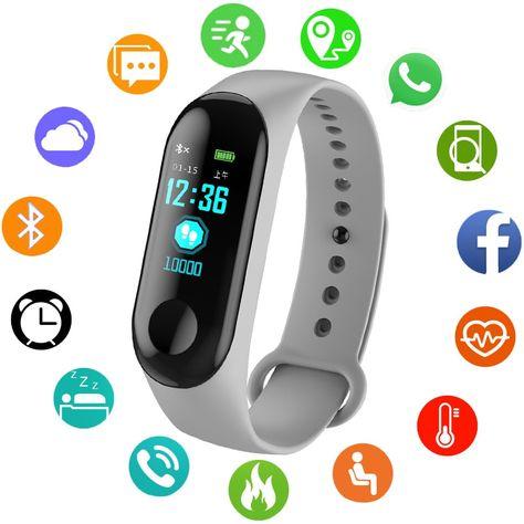 c82f58df6f92 Sport Bracelet Smart Watch Women Men Smartwatch For Android IOS Electronic  Clock Smart Band Fitness Tracker Smartband Waterproof.