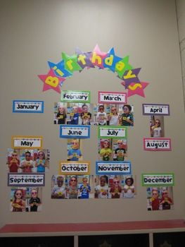 46 Ideas For Birthday Board Preschool Classroom Displays Cute Ideas