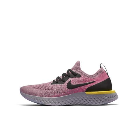 Nike Epic React Flyknit Older Kids Running Shoe - Purple  f67ed243b0e