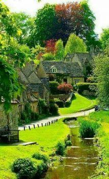 Vila medieval na Escócia !!! (77 pieces)