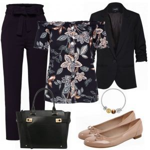 About You Style Damen Outfit Komplettes Business Outfit