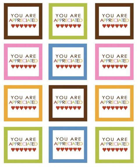 photograph relating to Printable Teacher Appreciation Tags named Pinterest