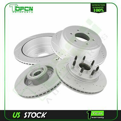 Front+Rear Rotors /& Ceramic Pads For 2009 2010 2011 2012-2015 2016 Toyota Venza