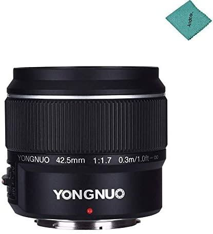 Yongnuo Yn42 5mm F1 7 Lens Compatible With M4 3 Mount Dslr Cameras Panasonic Gf8 Gf9 Olympus E Pl9 Dslr Camera Dslr Lens