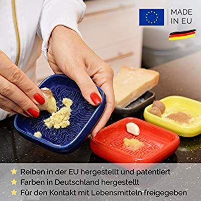 Anckeramic Ceramico Reibe Blau Handwerklich Gefertigte Keramik Reibe Aus Finnland Geeignet Zum Reiben Jedes Essbaren Produkte In 2020 Ingwerreibe Lebensmittel Reibe