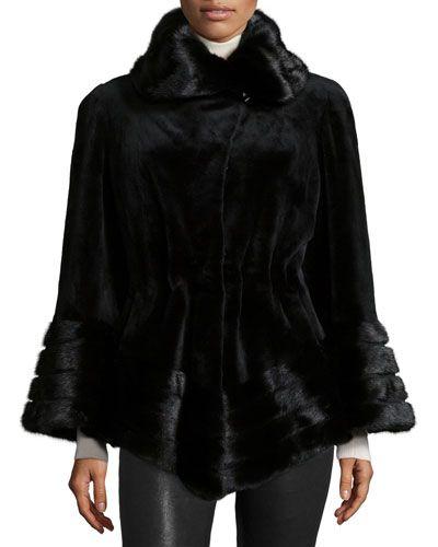 moncler voguette flounce-hem puffer coat