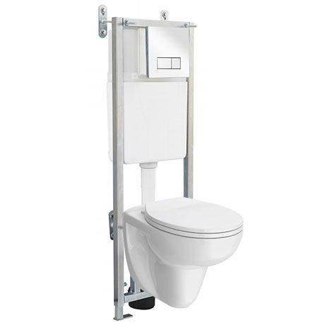 Wall Hung Toilet With Dual Flush Concealed Wc Cistern Wall Hung Frame Wall Hung Toilet Hanging Pans Toilet