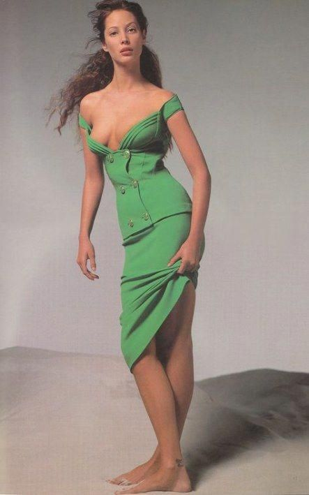 Christy Turlington for Gianni Versace 1993