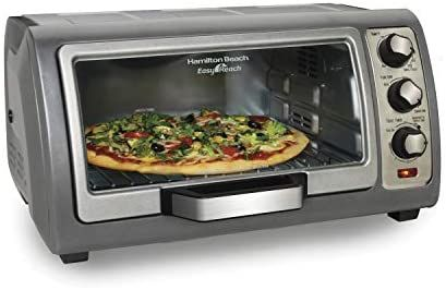 Amazon Com Hamilton Beach Countertop Toaster Oven Easy Reach