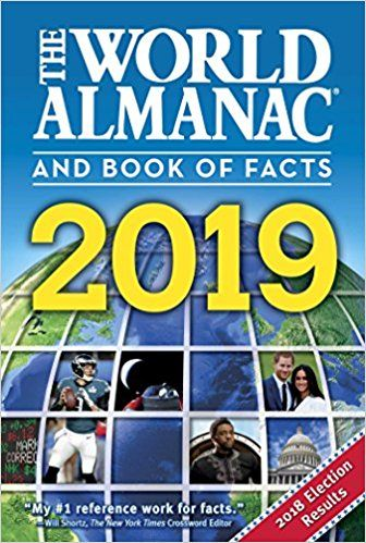 Pdf Download The World Almanac And Book Of Facts 2019 Free