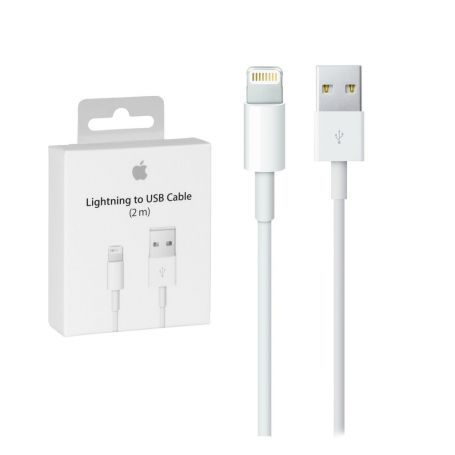 Laddare iPhone X, 8, 7, 6, 5, + Lightning USB kabel 1.0 M