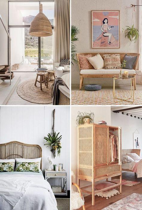 Inspiración deco: Muebles de fibras naturales