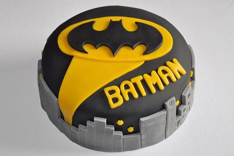 Teen Birthday Cake Ideas-Batman Cake