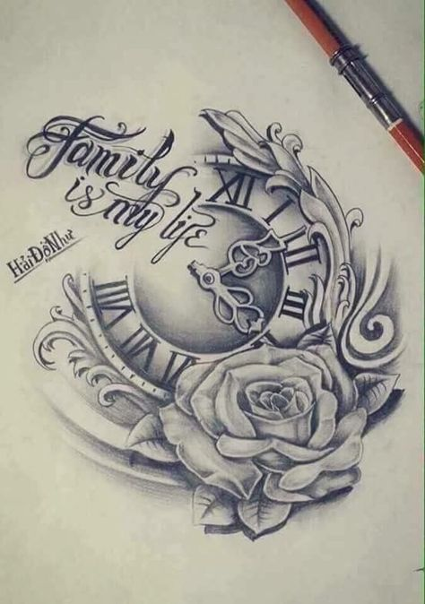 Are you looking for Clock Tattoo Ideas? Do you love clock tattoo designs? This is the best place for Tattoo Designs.
