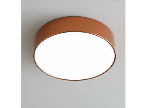 Plafoniere Soffitto Industrial : Plafoniera a luce diretta in metallo lea lampada da soffitto by
