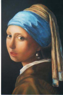 A Rapariga Do Brinco De Perola De Vermeer E A Minha Menina