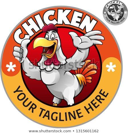 Vector Illustration Cute A Chicken Showing A Thumbs Up For Fried Chicken Restaurant Ayam Jantan Desain Logo Kartun