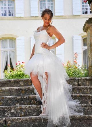 Mariage civil - Robe de mariée transformable