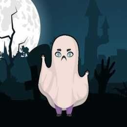لعبة تلوين أزياء هالوين Halloween Costumes Coloring Color Play Games