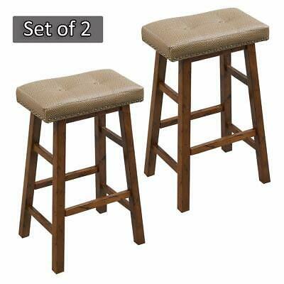 Advertisement O K Furniture 30 Inch Bar Height Stool Set Wood