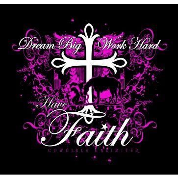 """Faith Women's """"Have Faith"""" T- Shirt - CH-1862 Profile"""