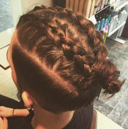 17++ French braid mens hair trends
